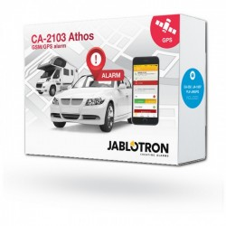 Auto alarma Jablotron CA-2103SET B sada CA-2103, CA-550, JA-185B a PLV-JA85PG, bez baterie