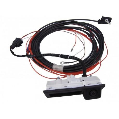 OEM Pohled zezadu Handle Camera Kit pro RNS510, RCD510, RNS315 - fit VW Tiguan, Touran, Sharan, Passat Vagon ...