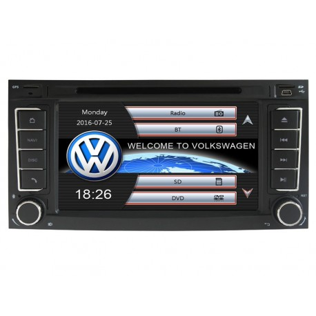 Navigace 2DIN pro vozy Škoda , Volswagen , Seat
